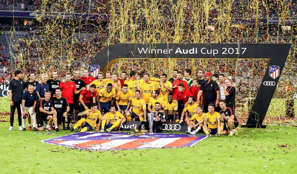 Στην Ατλέτικο Μαδρίτης το Audi Cup | Sportsking.gr