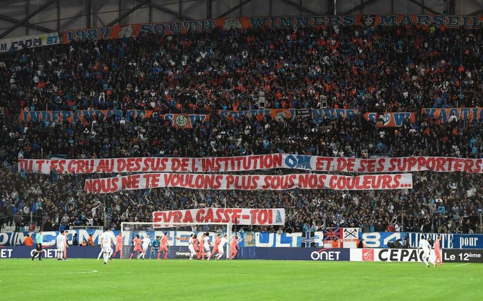 To μήνυμα των οπαδών της Μαρσέιγ στον Εβρά (pic) | Sportsking.gr
