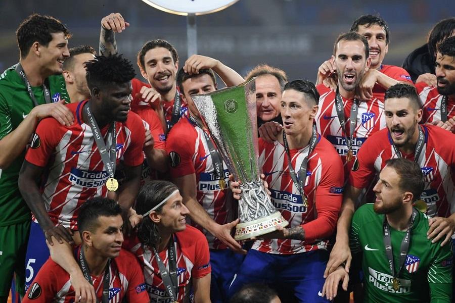 Συνεχάρη την Ατλέτικο η Ρεάλ Μαδρίτης (pic) | Sportsking.gr