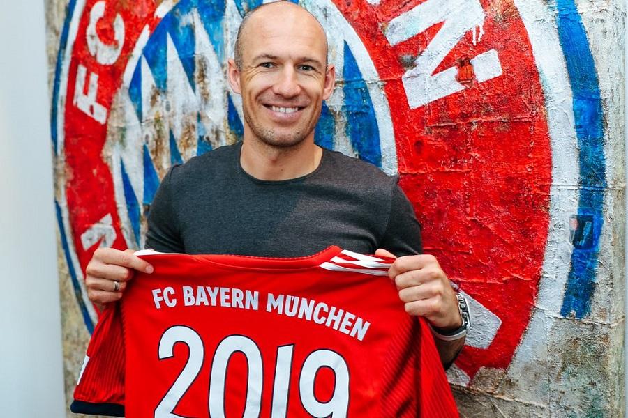 ΕΠΙΣΗΜΟ: Στη Μπάγερν μέχρι το 2019 ο Ρόμπεν! | Sportsking.gr