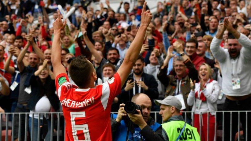 Ζωγραφιές τα δυο τελευταία γκολ της Ρωσίας (vid) | Sportsking.gr