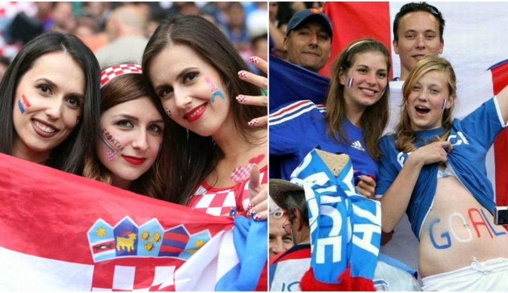 Γαλλία – Κροατία: Η «καυτή» μάχη της εξέδρας (pics) | Sportsking.gr