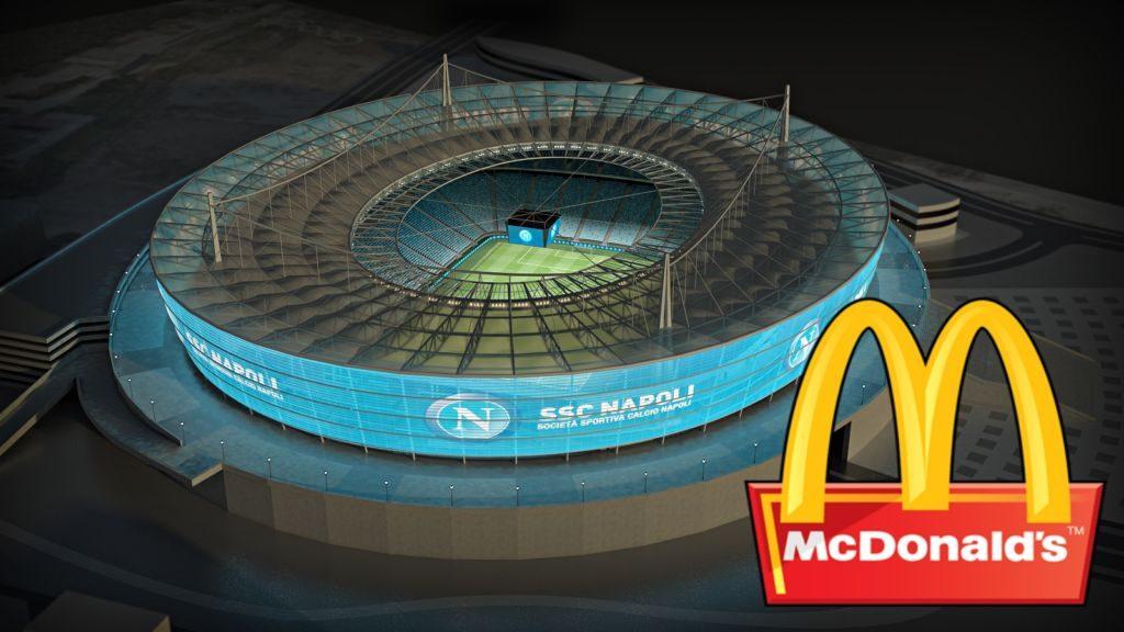 Μιλάει με McDonald's η Νάπολι για το νέο γήπεδο! | Sportsking.gr