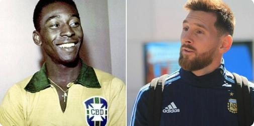 Πελέ για Μέσι: «Όχι καλύτερος από εμένα. Μόνο με το αριστερό μπορεί να βάλει γκολ» | Sportsking.gr